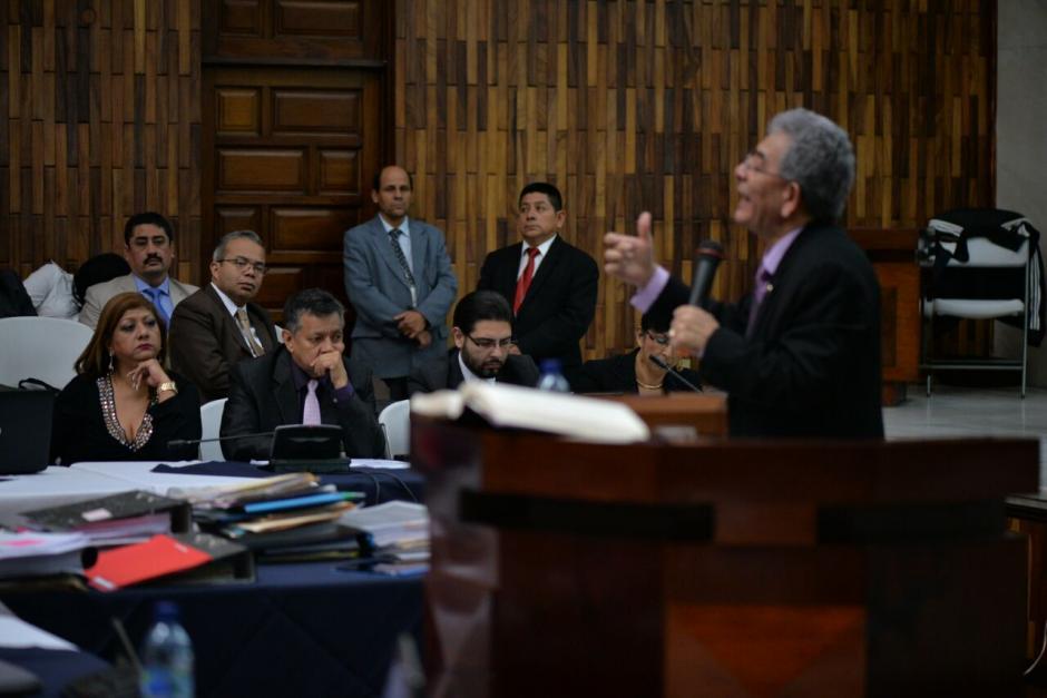 Mencionó que unos abogados supuestamente habían arreglado las medidas con él, pero lo desmintió. (Foto: Wilder López/Soy502)