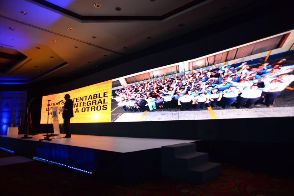 El mensaje fue claro para los asistentes: Hay que convertir la ética personal en la ética empresarial. (Foto: Jesús Alfonso/Soy502)