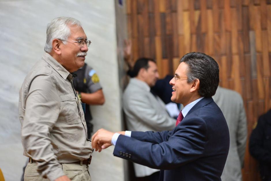 Edin Barrientos, uno de los implicados, también estuvo presente en la audiencia. (Foto: Jesús Alfonso/Soy502)