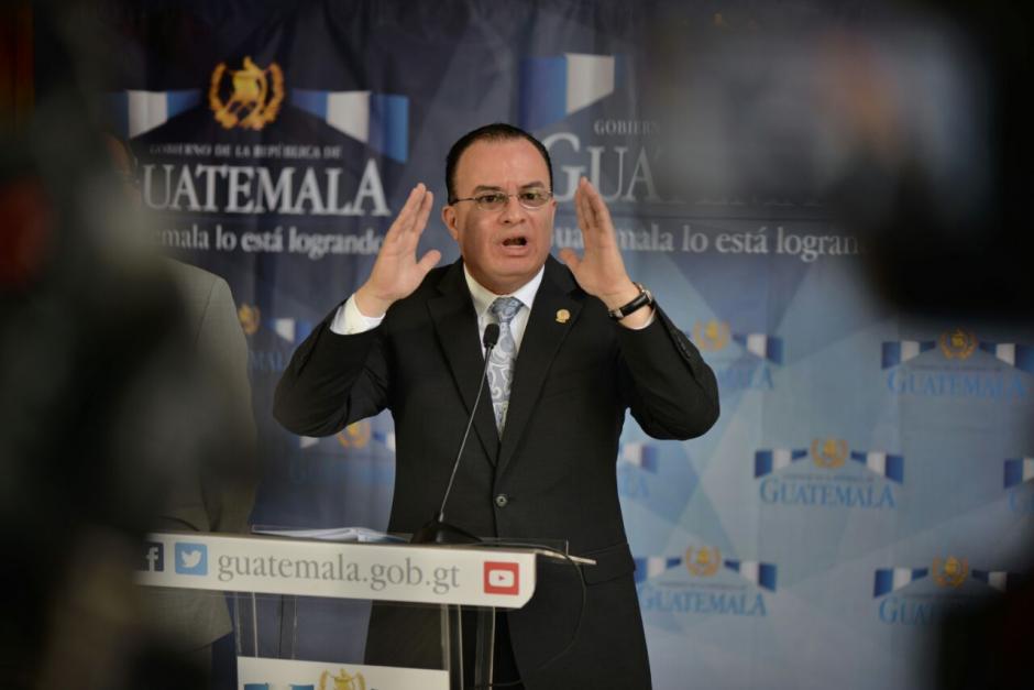 El ministro de Agricultura aclaró que ese es el procedimiento común. (Foto: Wilder López/Soy502)