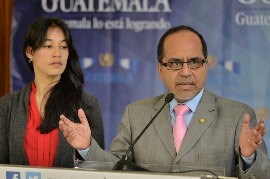 El Ministro ofreció detalles de la reunión que fue de carácter privado. (Foto: Wilder López/Soy502)