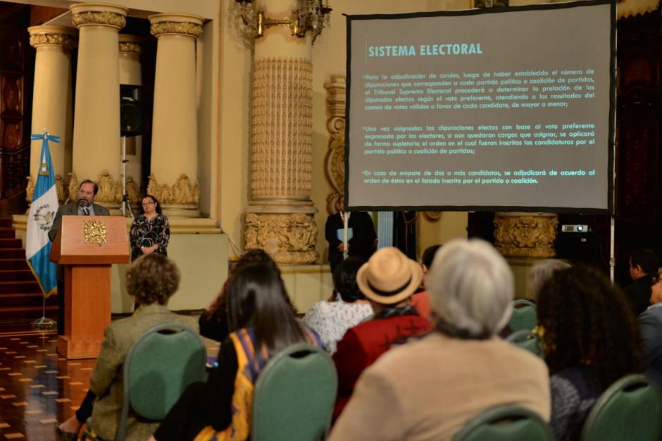 Con las nuevas reformas se espera modernizar el sistema electoral y reforzar el TSE. (Foto: Wilder López/Soy502)