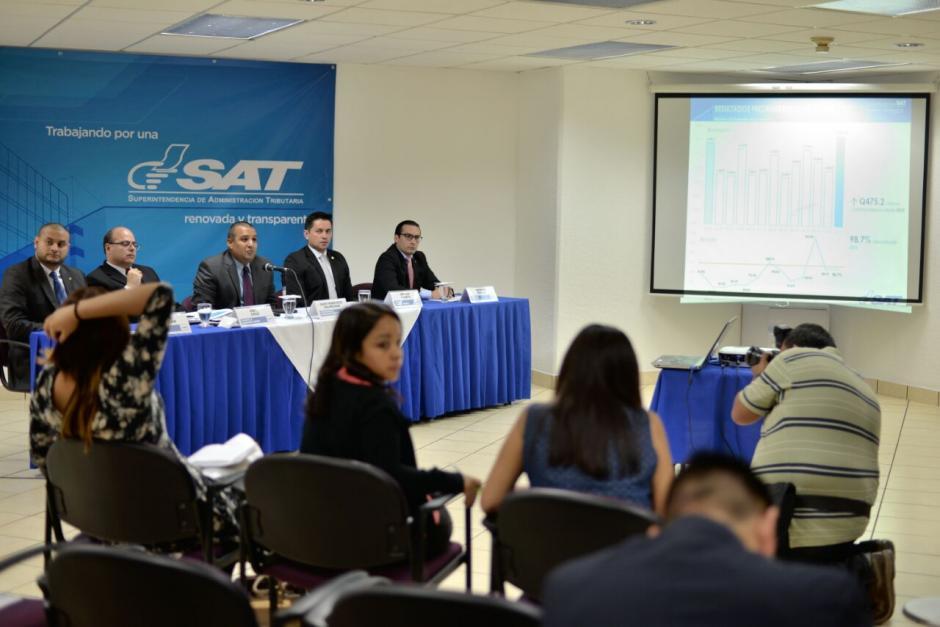 La SAT tiene una cartera que suma los 10 mil millones pendientes por pagar en procesos contenciosos.  (Foto: Wilder López/Soy502)