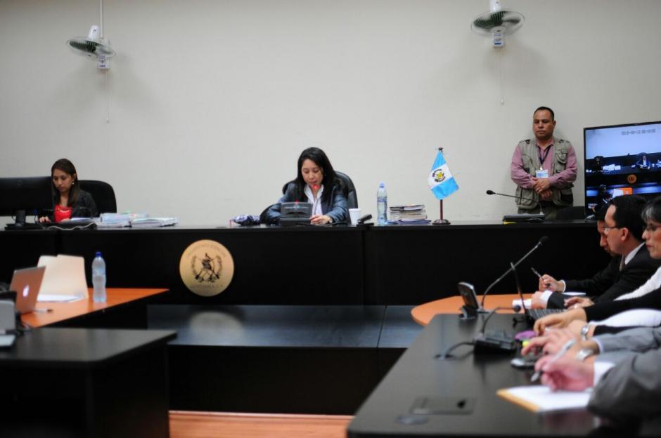 Este es el primer caso que resuelve la jueza de Mayor Riesgo D, Erika Aifán, (Foto: Alejandro Balán/Soy502)