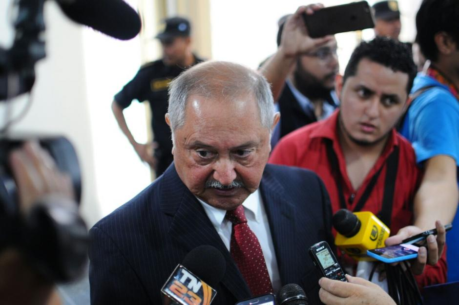 Gustavo Barrientos, fue designado como el interventor del Banco. (Foto: Alejandro Balan/Soy502)