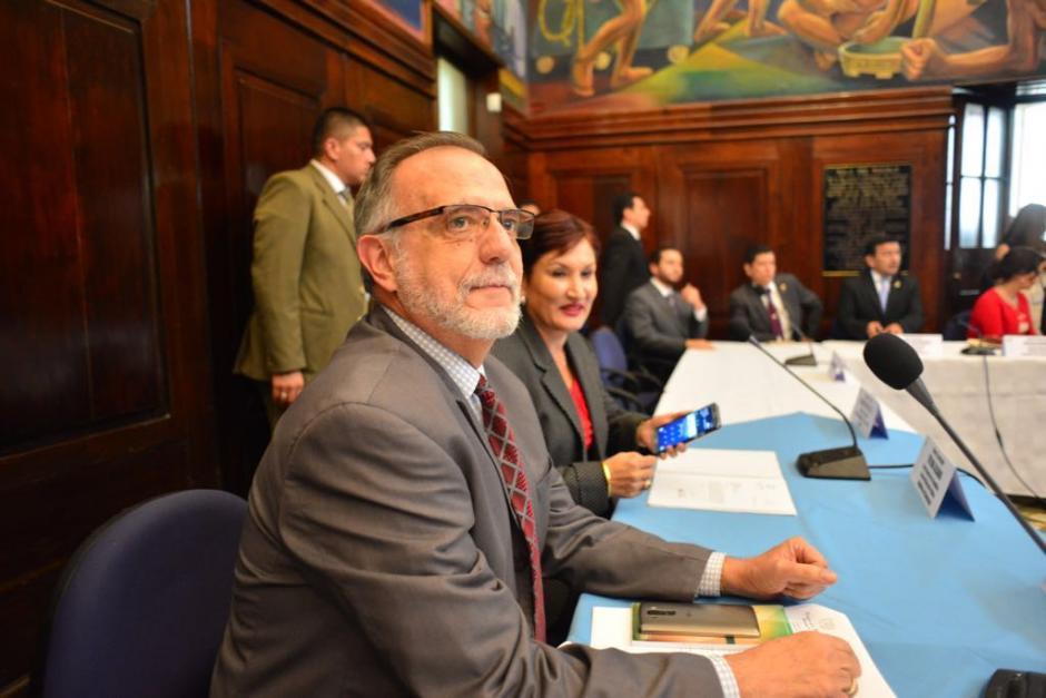 Los jefes del MP y CICIG apoyan la iniciativa que contempla reducir condenas. (Foto: Jesús Alfonso/Soy502)