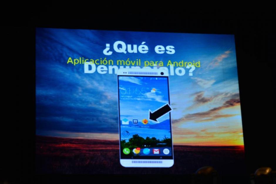 La aplicación la puede descargar todo aquel que tenga un teléfono inteligente. (Foto: Jesús Alfonso/Soy502)