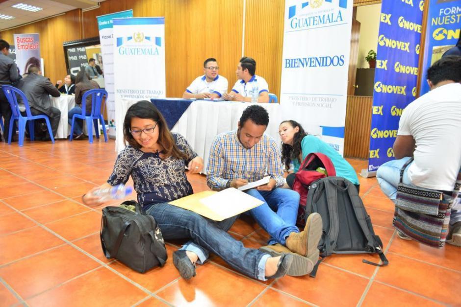 La feria está orientada para jóvenes entre 16 a 29 años. (Foto: Jesús Alfonso/Soy502)