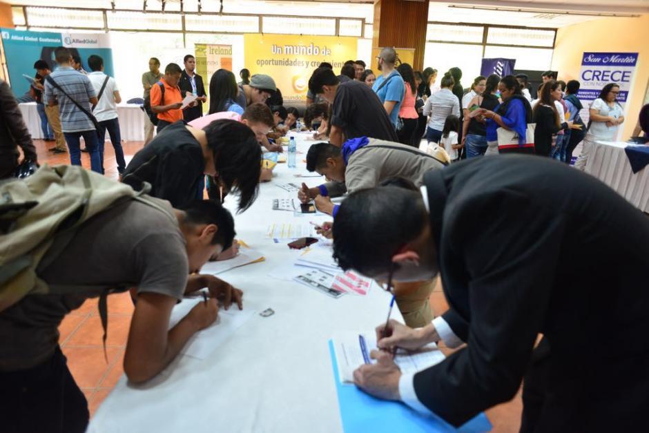 La Conjuve organizó esta actividad con el apoyo del Ministerio de Trabajo. (Foto: Jesús Alfonso/Soy502)