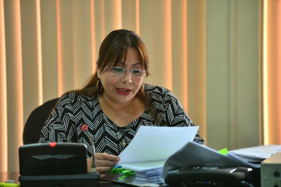 El proceso está a cargo de la titular del Juzgado Sexto de Instancia Penal, Silvia de León. (Foto: Wilder López/Soy502)