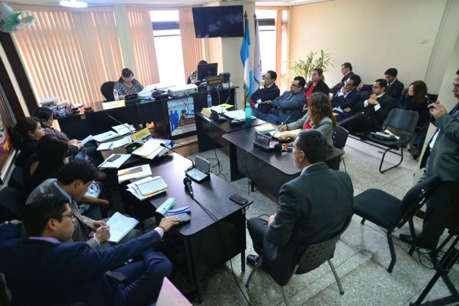 El Juzgado deberá definir las medidas de coerción para los implicados. (Foto: Wilder López/Soy502)