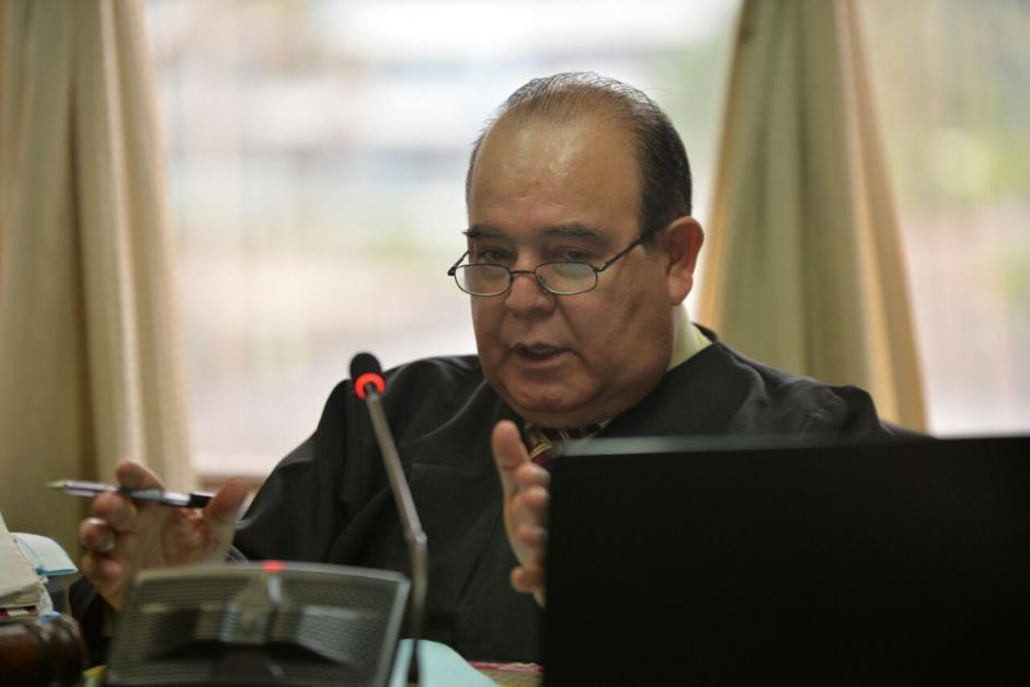 La audiencia de primera declaración estuvo a cargo del Juzgado Décimo de Instancia Penal. (Foto: Wilder López/Soy502)