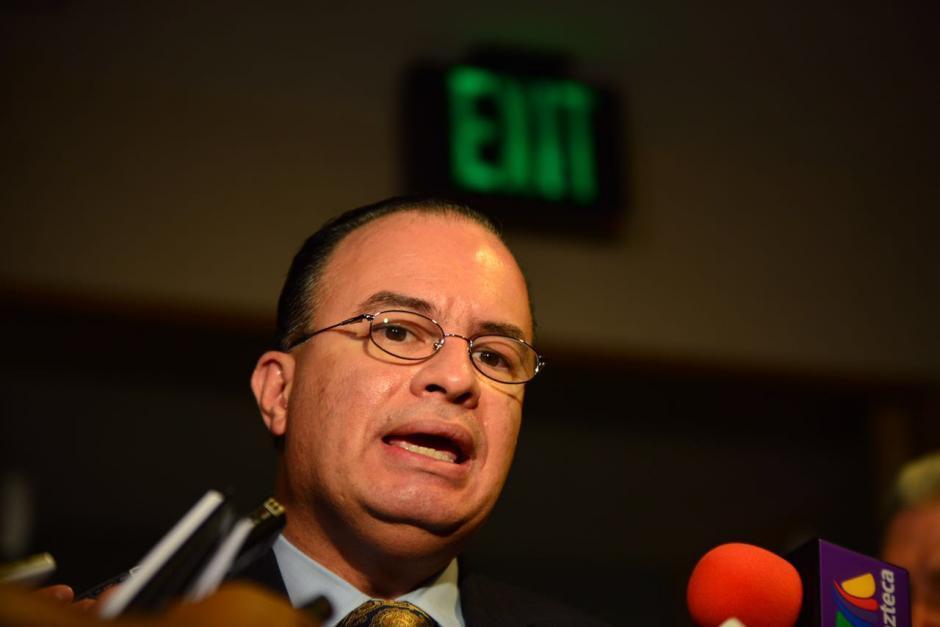 El ministro de Agricultura Mario Méndez Montenegro dio cifras oficiales. (Foto: Jesús Alfonso/Soy502)