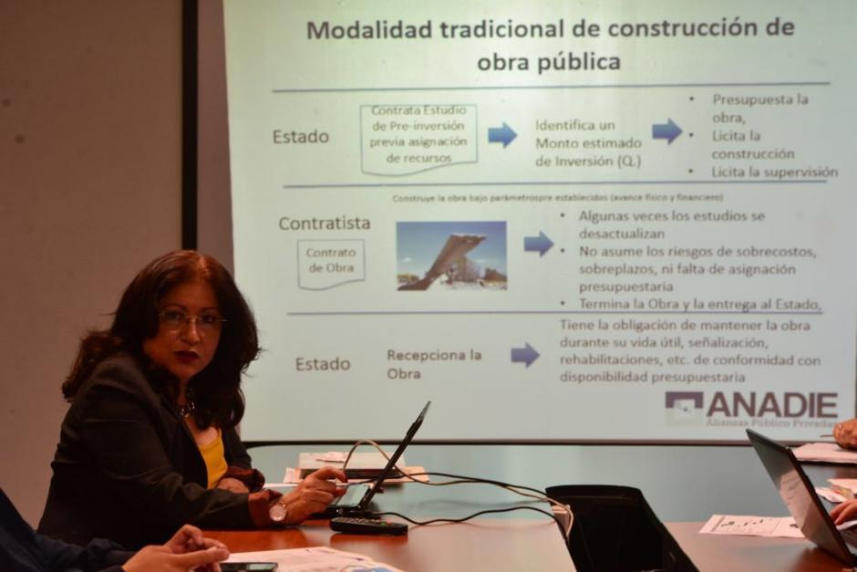 La directora en funciones, Lucrecia Ruiz, destacó que se retomó el ritmo de trabajo. (Foto: Jesús Alfonso/Soy502)