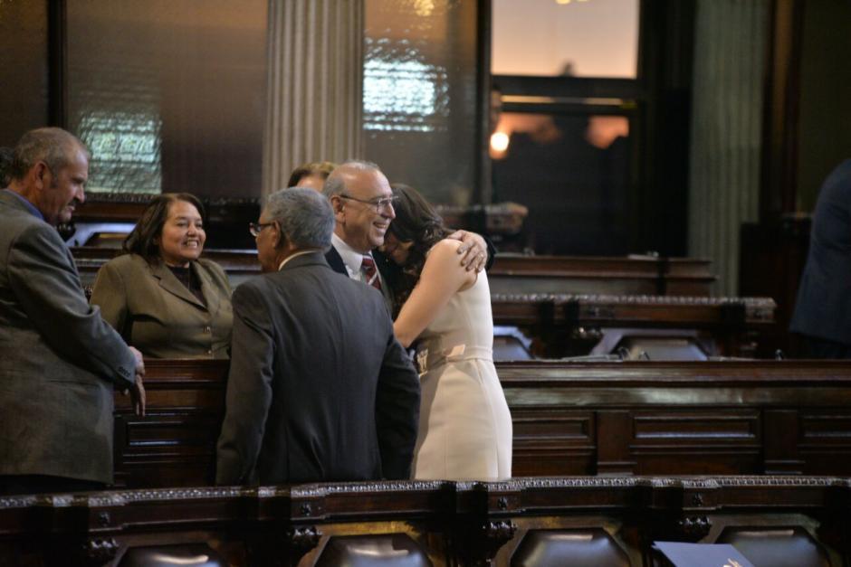 Un oficio le fue entregado a Sandoval, el cual fue también dirigido a la PNC para proteger su integridad. (Foto: Wilder López/Soy502)
