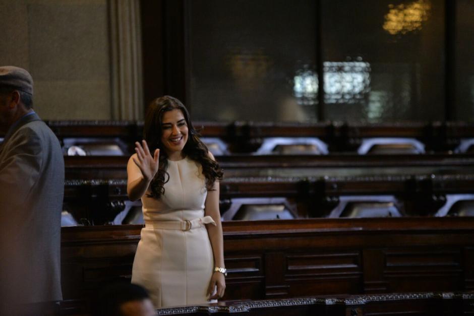 Ella puso una denuncia por acoso y violencia contra la mujer. (Foto: Wilder López/Soy502)