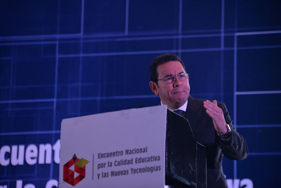 Morales señaló que sería la primera vez en conseguir esa meta. (Foto: Wilder López/Soy502)