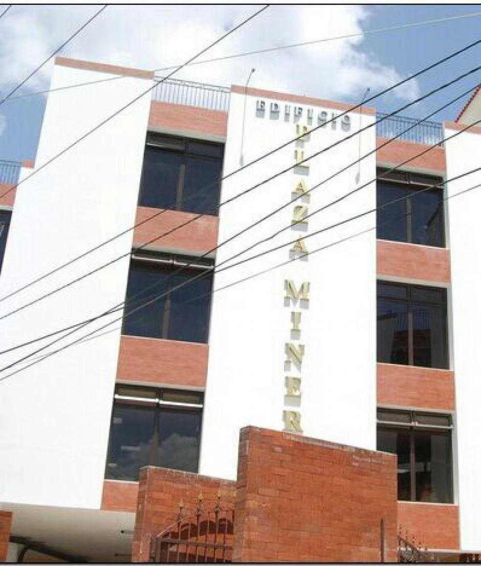 El edificio de Hichos está valorado en 9 millones de quetzales. (Foto: MP)