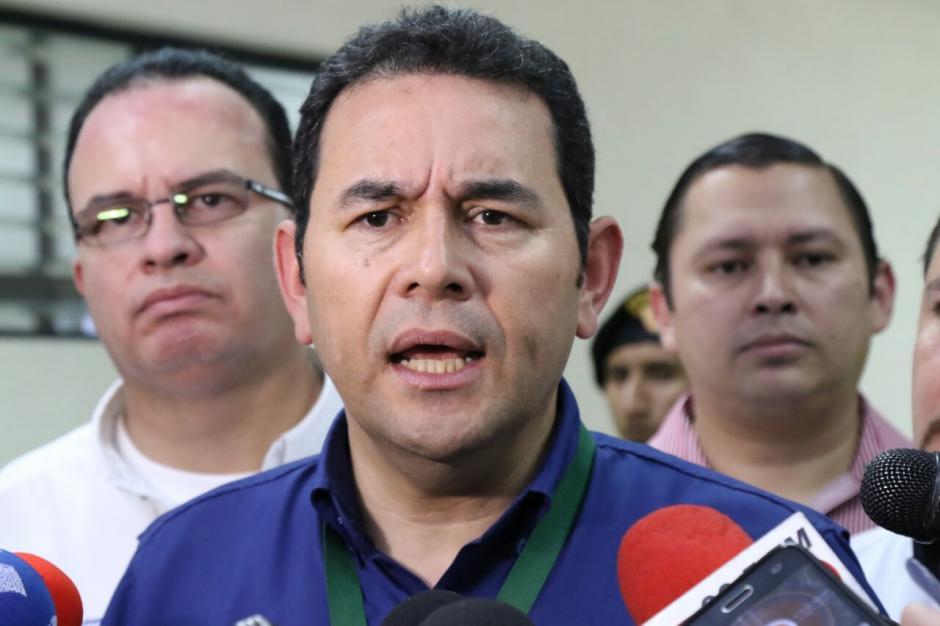 Morales señaló que esta tarde revisará el informe. (Foto: Alejandro Balán/Soy502)