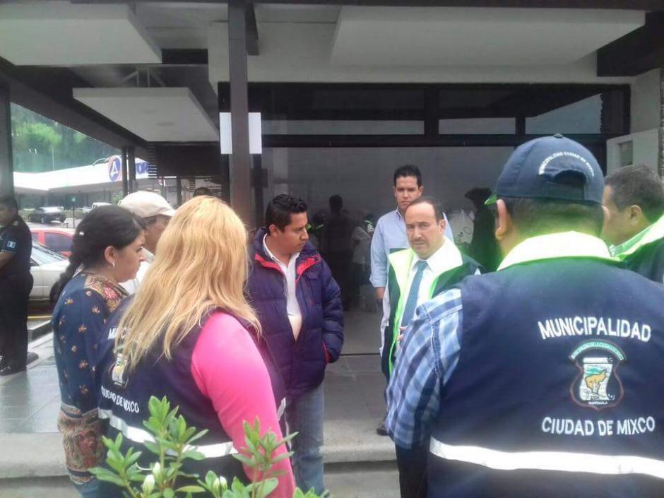 Según representantes del lugar, sí cuentan con la infraestructura para el manejo de aguas pluviales y negras. (Foto: Muni Mixco)