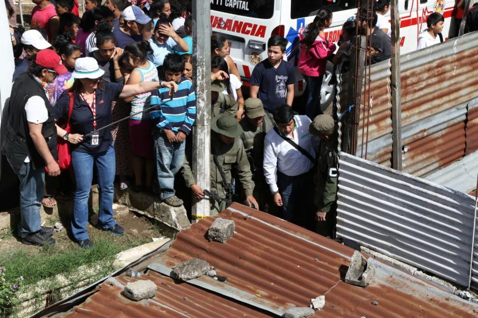 Por el momento hay 9 fallecidos y un menor desaparecido. (Foto: Alejandro Balán/Soy502)