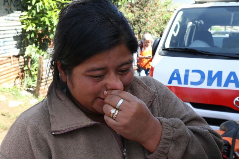 Irma anhela con encontrar el cuerpo de su sobrino para enterrarlo. (Foto: Alejandro Balán/Soy502)