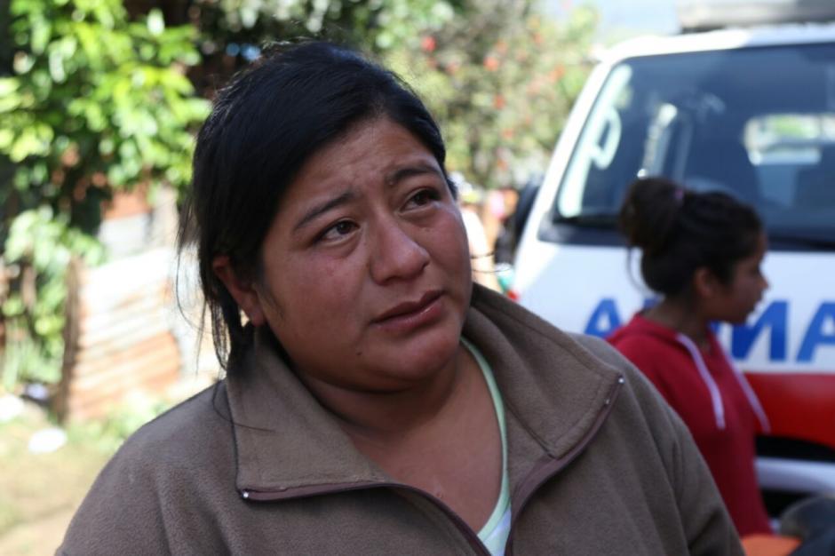 Irma Raxán, la tía de Jimmy, relata que era un niño muy trabajador. (Foto: Alejandro Balán/Soy502)