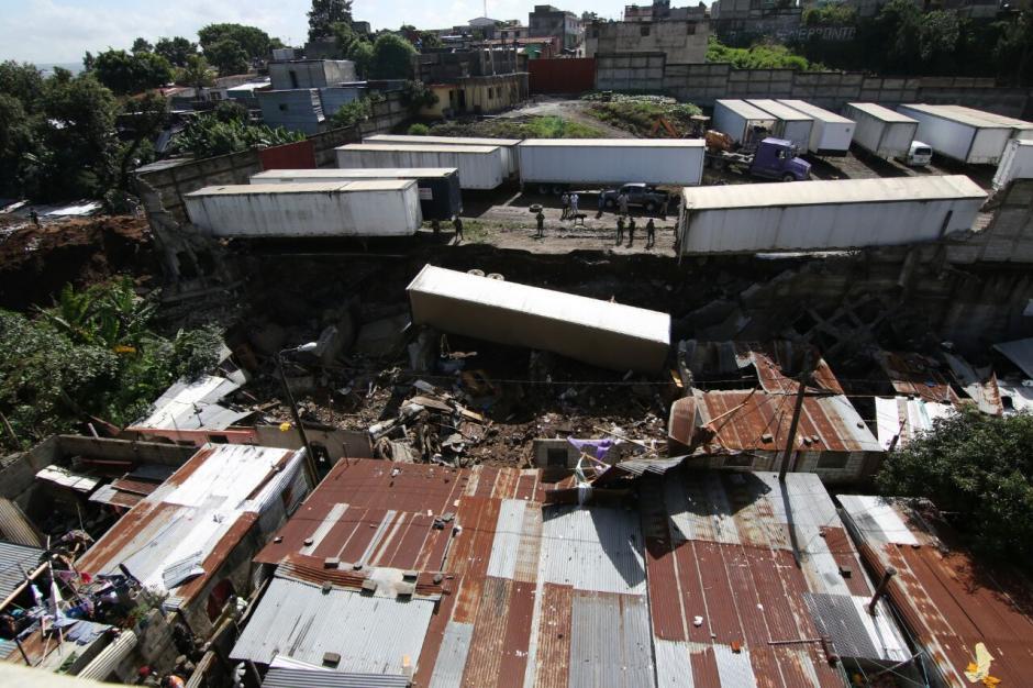 Las autoridades registran al menos nueve viviendas con daños. (Foto: Alejandro Balán/Soy502)