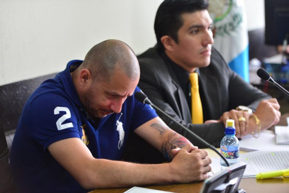 """""""El Fantasma"""" se mostró sereno con la resolución del juez. (Foto: Jesús Alfonso/Soy502)"""