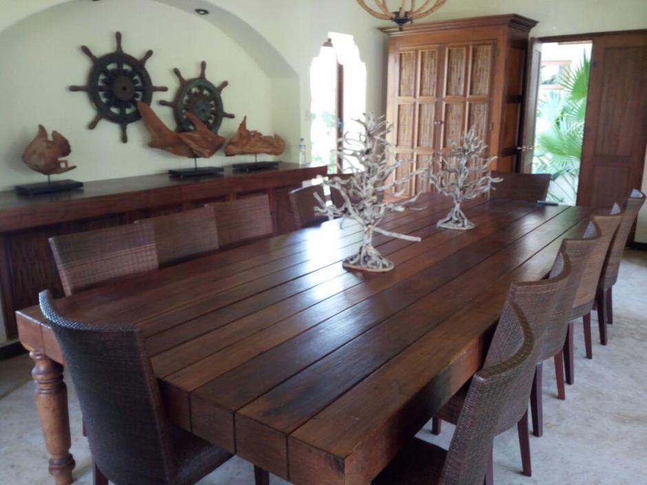 La propiedad fue registrada a nombre de la empresa Construcciones y Caminos, S. A. (Foto: MP)