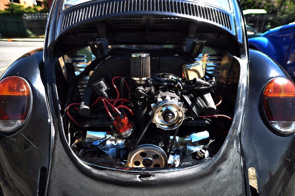 El motor de este vehículo fue modificado. (Foto: Wilder López/Soy502)