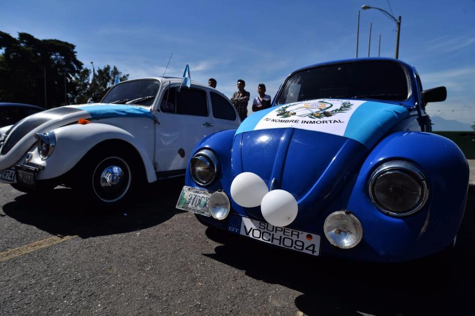 """El vehículo tipo """"Escarabajo"""" fue el ícono de la marca Volkswagen. (Foto: Wilder López/Soy502)"""