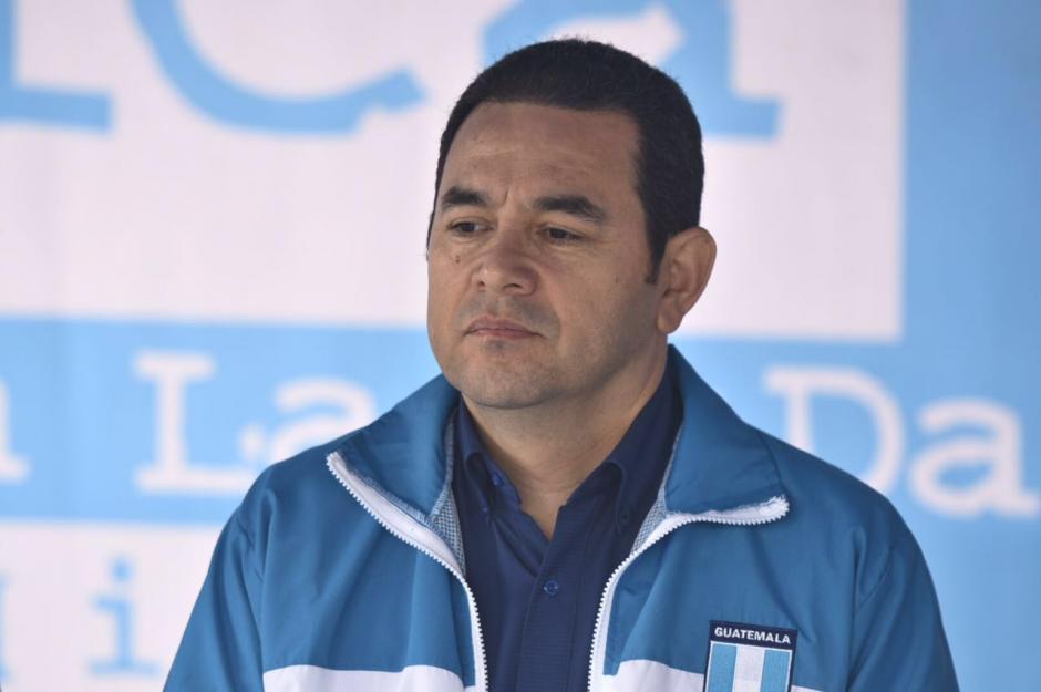 El presidente Morales lleva tres semanas sin ofrecer conferencia a los medios. (Foto: Soy502)