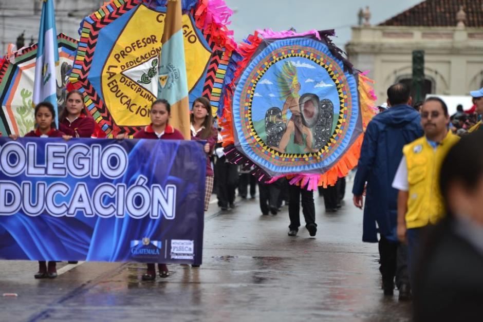 En total participaron 120 bandas escolares. (Foto: Jesús Alfonso/Soy502)