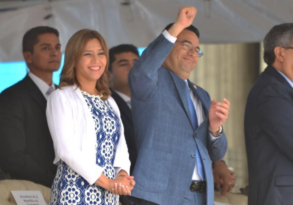 Morales inauguró la actividad. (Foto: Jesús Alfonso/Soy502)