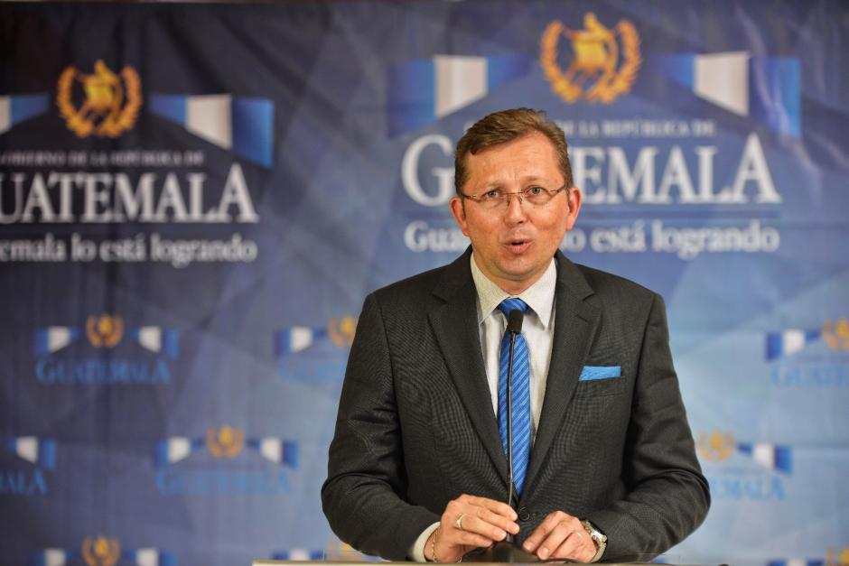 El portavoz dijo que los acontecimientos no suponen una crisis. (Foto: Wilder López/Soy502)