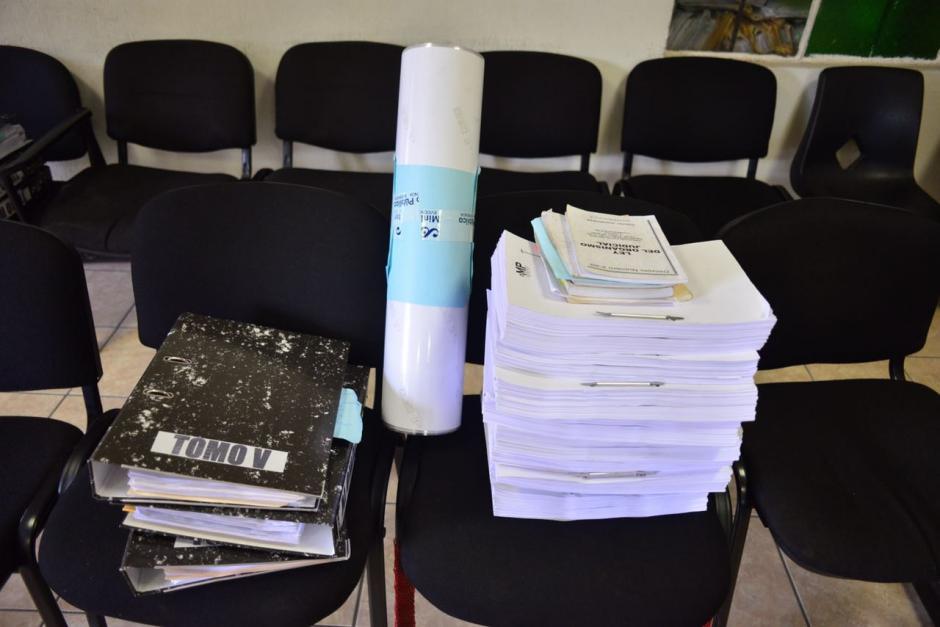 En esta audiencia de primera declaración el Ministerio Público le imputará sus delitos. (Foto: Jesús Alfonso/Soy502)