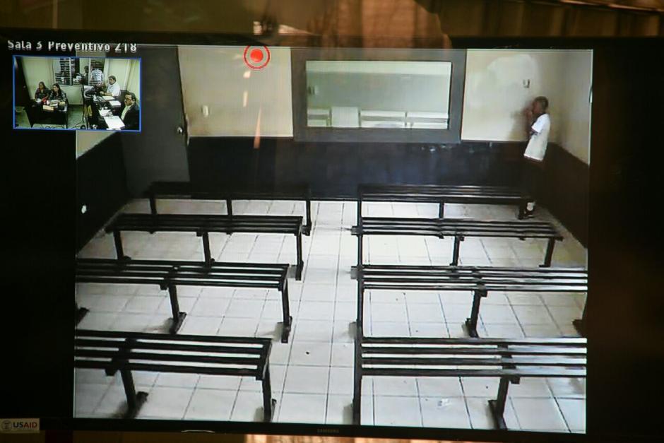 Johnny Reyes Lemus se negó a declarar ante el Juzgado Octavo de Primera Instancia Penal. (Foto: Wilder López/Soy502)