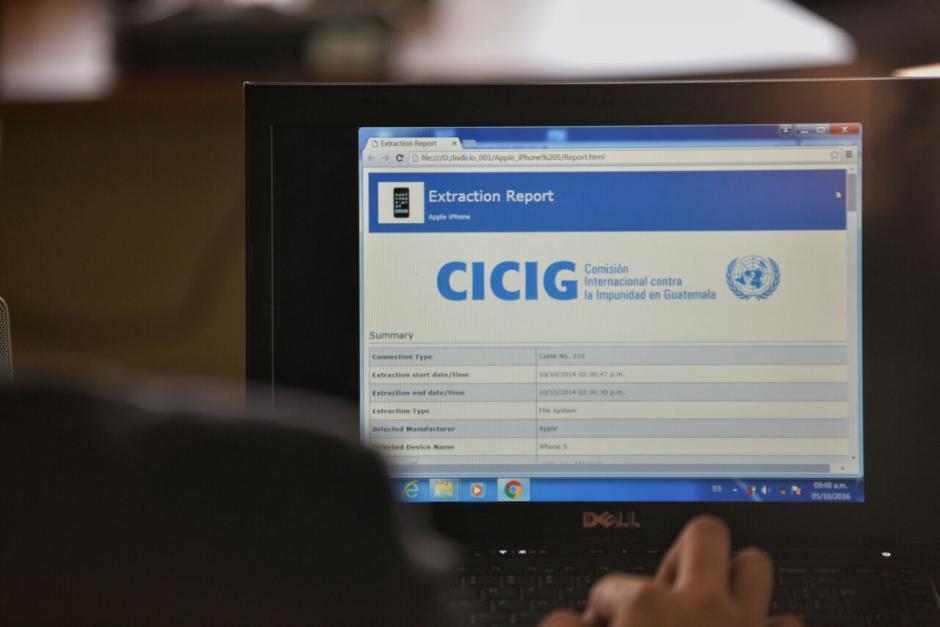 Los últimos peritos respaldaron con análisis técnicos las comunicaciones entre los involucrados. (Foto: Wilder López/Soy502)