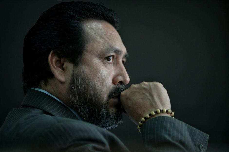 El expresidente del Congreso, Gudy Rivera, enfrenta juicio por tráfico de influencias. (Foto: Wilder López/Soy502)