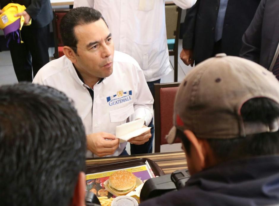 El Mandatario aseguró que la responsabilidad recae en especial sobre los diputados que no quisieron aprobar el estado de calamidad. (Foto: Alejandro Balán/Soy502)