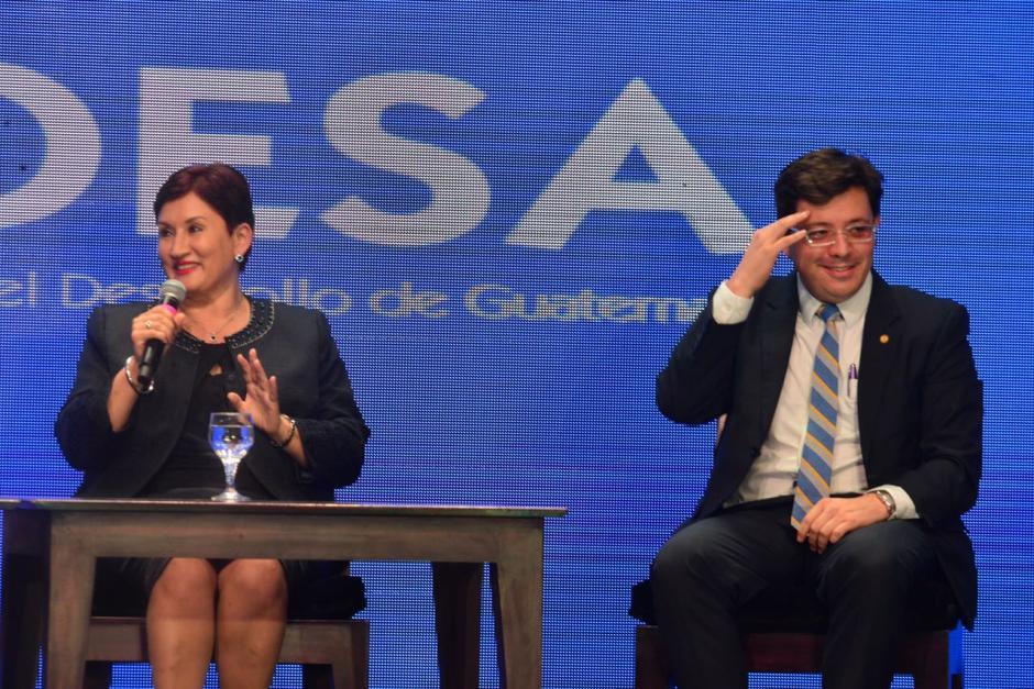 La fiscal participó en un panel de discusión sobre el desarrollo de ciudades. (Foto: Jesús Alfonso/Soy502)