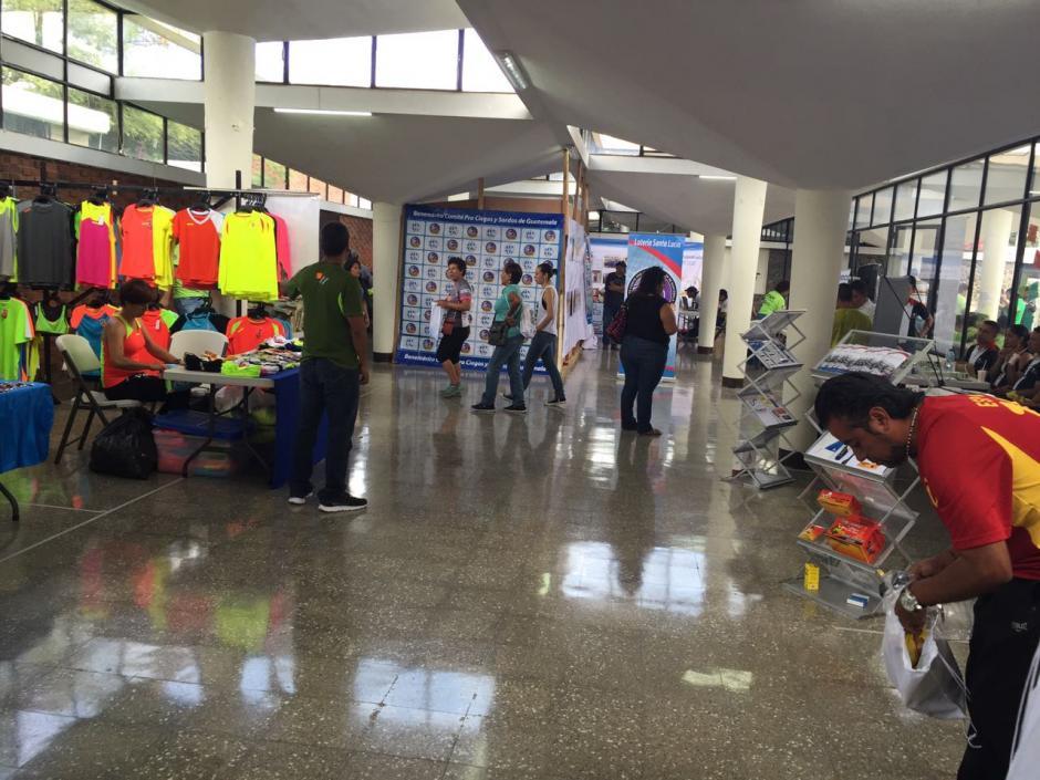 La Expo de la carrera tiene lugar en las instalaciones del Hospital Rodolfo Robles. (Foto: Comité Pro-Ciegos y Sordos)