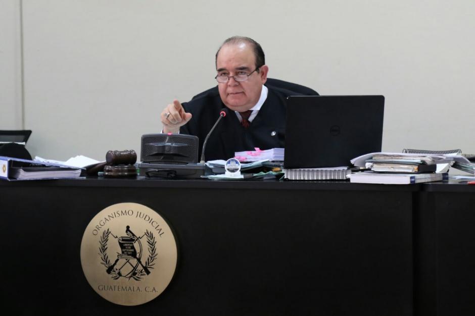 La resolución fue dictada por el titular del Juzgado Décimo de Instancia Penal, Walter Villatoro. (Foto: Alejandro Balán/Soy502)