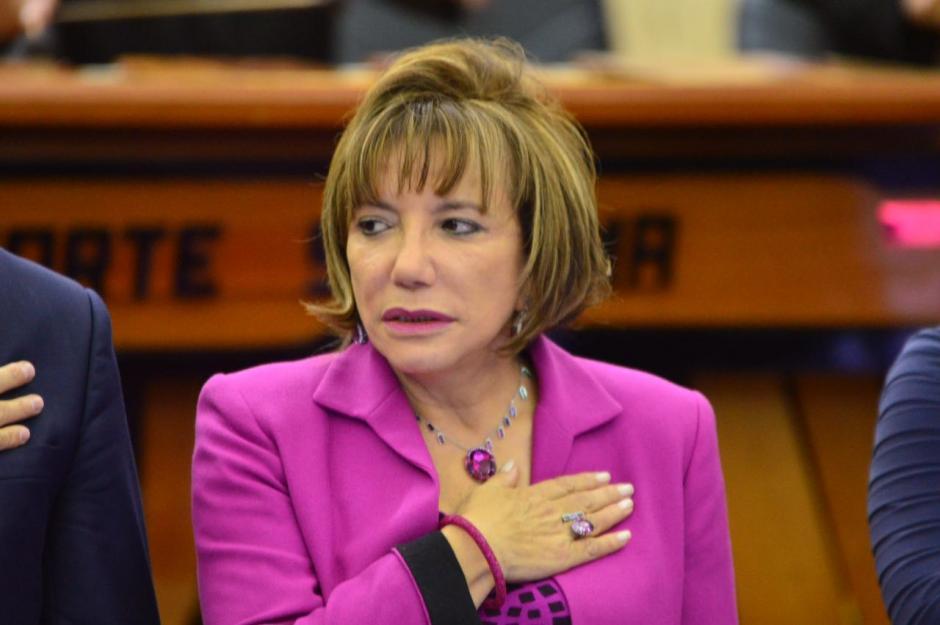 Silvia Patricia Valdés será la presidenta del OJ hasta octubre de 2017. (Foto: Jesús Alfonso/Soy502)