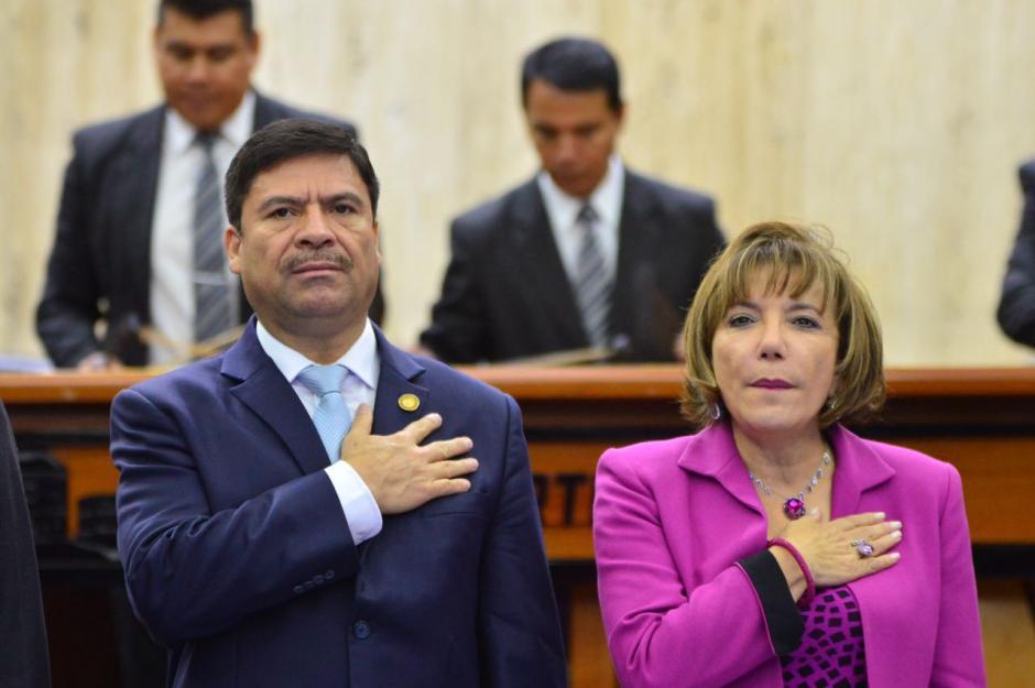 La Memoria de Labores del Presidente del Organismo Judicial comprende las acciones de Rafael Rojas en el último año. (Foto: Jesús Alfonso/Soy502)