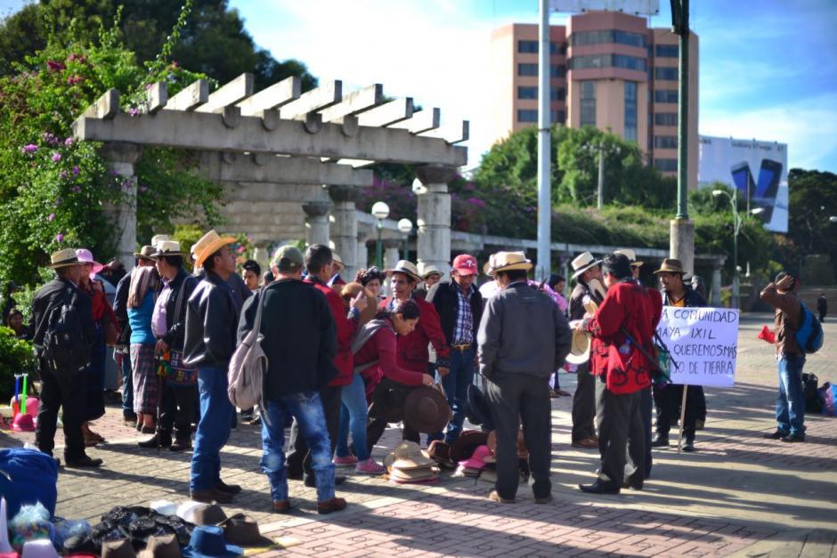 Además harán una parada frente el Organismo Judicial. (Foto: Jesús Alfonso/Soy502)