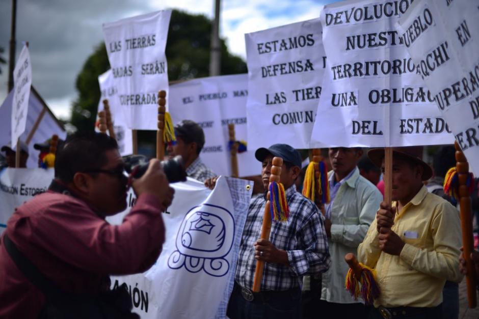 La manifestación concluirá alrededor del medio día, pero las marchas continuarán hasta el viernes. (Foto: Jesús Alfonso/Soy502)