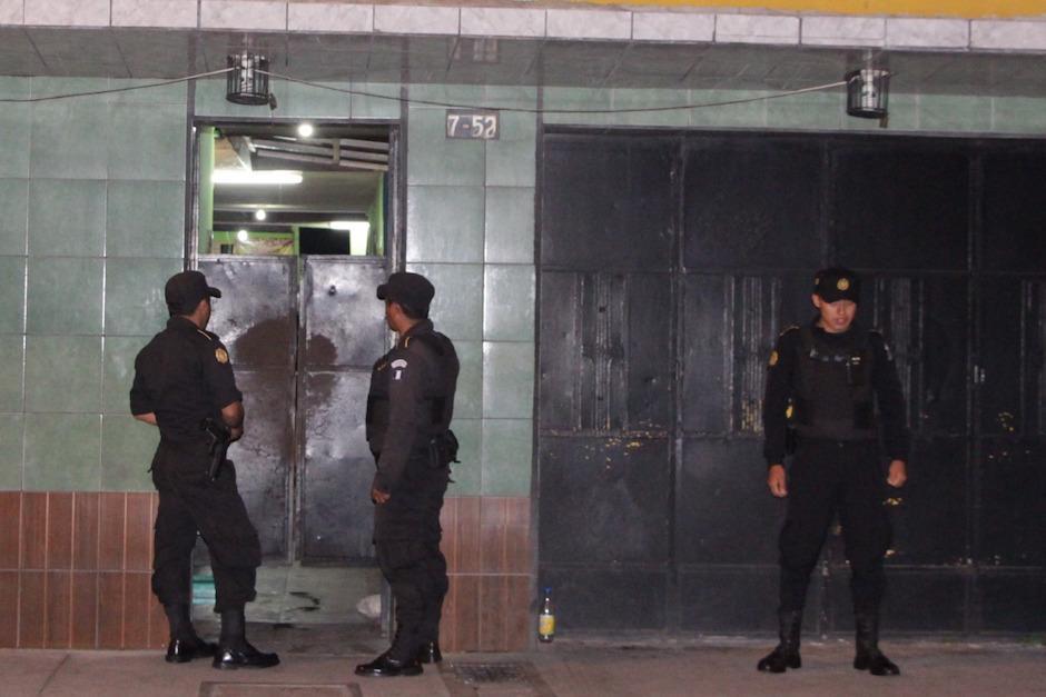 El operativo fue durante la noche del miércoles y la madrugada del jueves. (Foto: PNC)