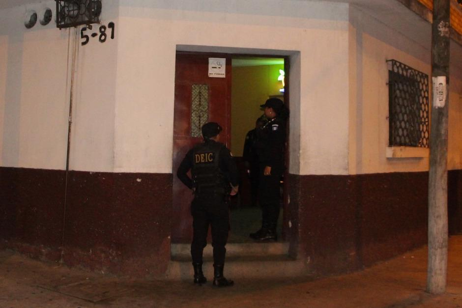Fueron capturadas nueve personas.  (Foto: PNC)